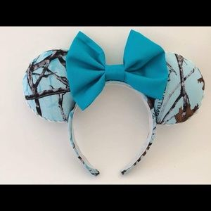Blue cammo Mickey Disney Ears